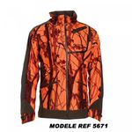VESTE  CUMBERLAND PRO DEERHUNTER CAMO ORANGE