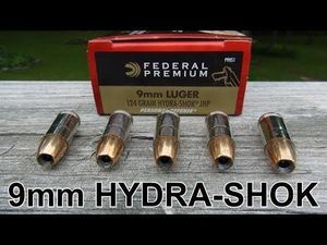 CART FEDERAL 9 PARA 124 GR HYDRA SHOCK BTE DE 20