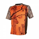 Tee-shirt camouflage orange enfant SOMLYS