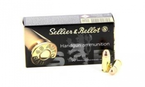 MUNITIONS SELLIER & BELLOT 357 MAG FMJ 158 GRS